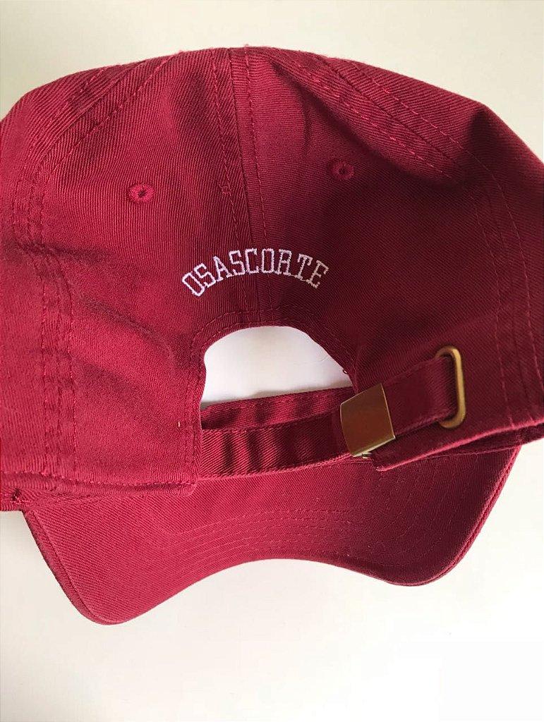 Boné Polo Classic Vermelho - Loja Osascorte - Grau   Corte b4afec2a24d