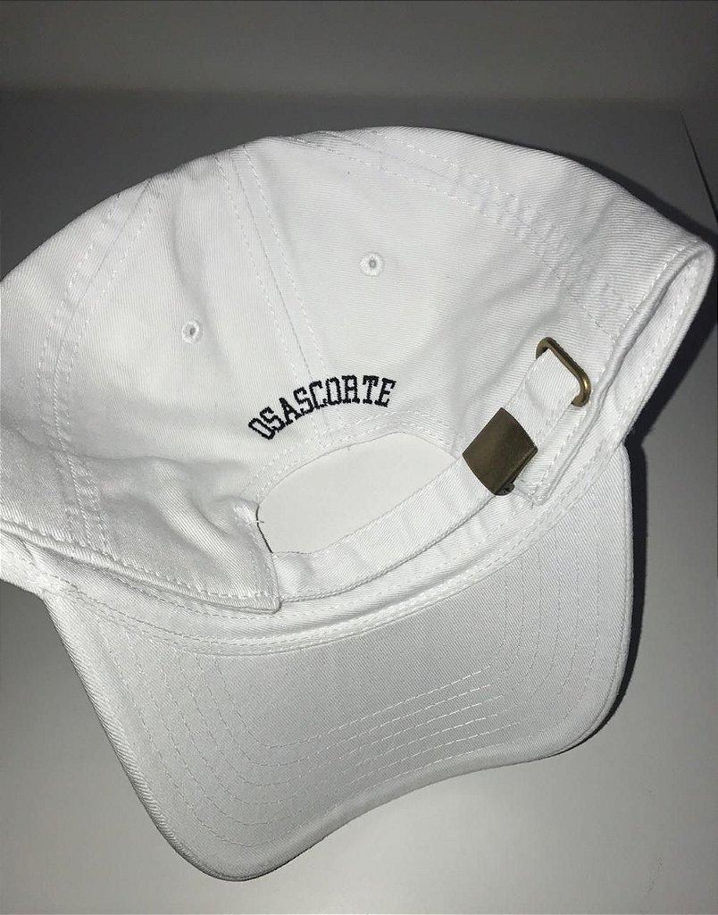 Boné Polo Classic - Branco - Loja Osascorte - Grau   Corte 62b88bdfab8