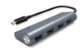 HUB USB-C MACHO SUPERLEAD X 4 PORTAS USB 3.1 FÊMEA - Imagem 1