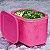 Tupperware Freezer Line 1,1 litro Rosa Pink - Imagem 1