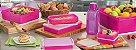 Tupperware Kit BEA Refri Box e Caixa 8 Peças Nível 3 Rosa 10-2015 - Imagem 1