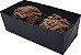 Embalagem Preta para 2 doces (8x4x3) - 20 Und. - Imagem 2