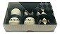 Caixa embalagem Kraft dia dos Pais para 6 brigadeiros ou doces - Obrigado Pai- 10 Uni - Imagem 5