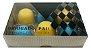Caixa embalagem Kraft dia dos Pais para 6 brigadeiros ou doces - Obrigado Pai- 10 Uni - Imagem 1