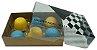 Caixa embalagem Kraft dia dos Pais para 6 brigadeiros ou doces - Obrigado Pai- 10 Uni - Imagem 3