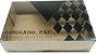 Caixa embalagem Kraft dia dos Pais para 6 brigadeiros ou doces - Obrigado Pai- 10 Uni - Imagem 8
