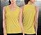 Regata básica Amarela Clara - Feminina - Imagem 1