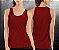 Regata básica Vermelha  - Feminina - Imagem 1