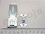 Porta Cadeado Aliança Trinco Fecho Pequeno 2 .1/2 Kit c/2 - Imagem 2