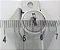 Fechadura de Gaveta Armário Móveis Gabinete Papaiz 22 mm Cromada Cilindro - Imagem 6