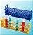 rack plastico para tubo de ensaio de 32 mm diametro 24 lugares  pk/1 abdos P20715 - Imagem 1