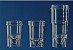 Cubeta  Plastico de  0,5 ML Transparente pcte de 1000 - Imagem 1