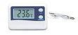 Termometro  Temperatura Interna e externa para Máxima e Mínima Digital -50+70ºC - Imagem 2