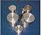 Capsula De Alumínio Com Tampa  Cilíndrico (Favor Especificar Tamanho) - Imagem 1