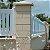 Forma Capa De Pilar Coluna Quadrada Casinha Lisa 49x49x6,5cm - BS347 - Imagem 4
