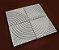 Forma Quadrada Calçada Cimento Andorinha 32x32x2,5 - FP021 - Imagem 2