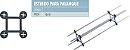Kit Estribo 10x10 para Palanque Pilar Concreto 1000 Peças - Imagem 4