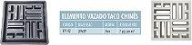 Forma Elemento Vazado Taco Chines 39x39x07cm - FP142 - Imagem 4