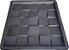 Forma para Revestimento de Parede 3D Quadrada 29cm 25 Quadros FP146 - Imagem 1