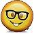 Almofada Emoticon - Emoji Nerd Geek - Imagem 1