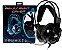 Headset Knup 7.1 Virtual Led C/ Microfone P2 + Usb Kp-464 - Imagem 1