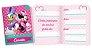 Convite Minnie Rosa 8 Unidades - Imagem 1