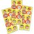 Adesivo Decorativo Redondo Magali Melancia - 30 Unidades - Imagem 1