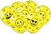 """Balão de Festa Emoji 9"""" 25 Unidades - Imagem 1"""