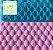 Marcador de Textura Floco de Neve (Natal) Frozen - Imagem 1