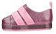 Mini Melissa Go Sneaker Rosa Glitter - Imagem 4