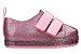 Mini Melissa Go Sneaker Rosa Glitter - Imagem 1