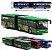 Brinquedo mini ônibus articulado novo - Imagem 2