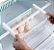 Cesto organizador de geladeira ajustável - Imagem 1