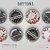 2 Bottons Corte de Chamas Prateadas (ACOSF) - Imagem 1