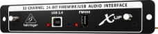 Interface Firewire para x32 - Behringer - Imagem 3