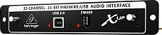 Interface Firewire para x32 - Behringer - Imagem 1