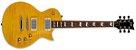 GUITARRA ESP LTD EC-256 FLAMED MAPLE TOP LEMON DROP - Imagem 1
