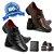Kit social com 2 pares de sapato social + cinto e carteira  - Imagem 1