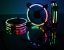 Kit Fan Rise Mode Tornado com led Rgb Energy 3 Fans - Imagem 2