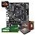 Kit Upgrade Gamer Megatumi Amd Ryzen R5 3400G Placa mãe A320m 2x4gb - Imagem 1