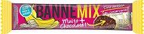 Bannemix - Barra de Banana cobertura Chocolate Branco 24un - Imagem 1