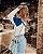 Tricot Fashion Assimétrica Off - Imagem 4
