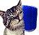 Auto Escovamento com Catnip para Gatos | Azul - Imagem 5