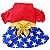 Vestido para Cachorros | Vermelho com Estrelas - Imagem 3