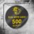 500 Adesivos Personalizados 4x4cm Redondo - Imagem 1