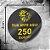 250 Adesivos Personalizados 4x4cm Redondo - Imagem 1