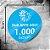 1.000 Adesivos Personalizados 5x5cm Redondo - Imagem 1