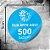500 Adesivos Personalizados 5x5cm Redondo - Imagem 1