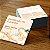 500 Mini Cartões de Visita 4x4 (Frente e Verso Coloridos) + VERNIZ LOCALIZADO - Imagem 2
