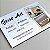 500 Cartões de Visita 4x0 (Verso em Branco) - Imagem 2